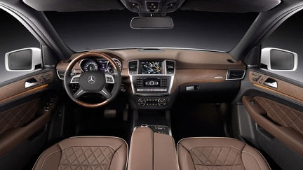 Mercedes ML interieur
