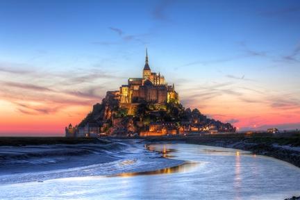 Mont Saint Michel - HD Wallpaper