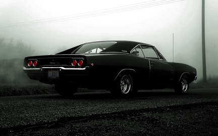 Ancienne dodge charger