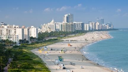 View of Miami - Beach
