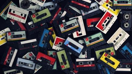 The audio tapes - Retro