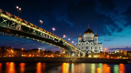 Moscow - Russia - HD wallpaper