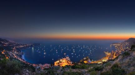 View of Monaco - 2560x1440