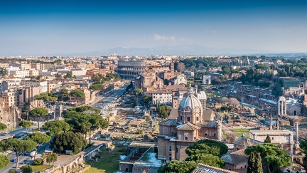 View of Rome -Italy