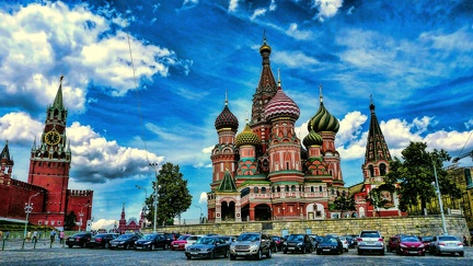Wallpaper Moscou - 2560x1440