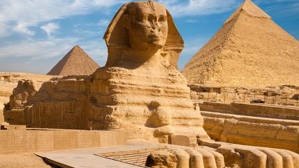 The Sphinx - HD Wallpaper