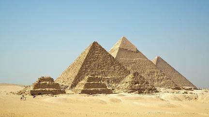Pyramids of Giza - HD