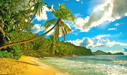 Seychelles - postcard
