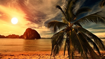 Seychelles - sunset