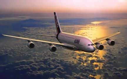 Avion A380 - Wallpaper HD