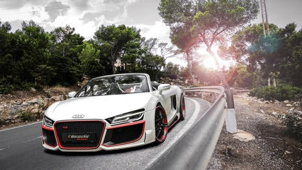 Audi R8 Spyder - wallpaper