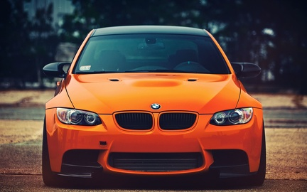 BMW serie 3 - tuning orange
