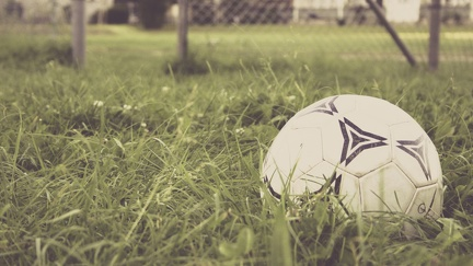 Ballon de foot - photographie