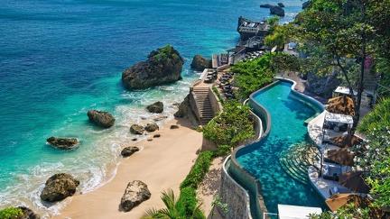 Beautiful pool in Bali
