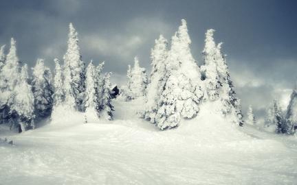 Winter vintage photo - 1920x1200