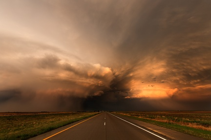 Road and Storm