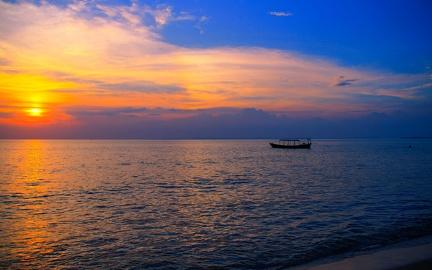 Sea - Sunset