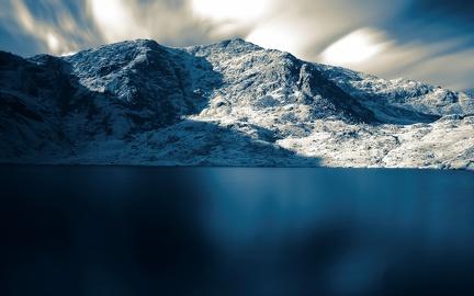 Lake in winter (2)