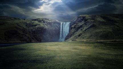 Beautiful wallpaper - waterfall