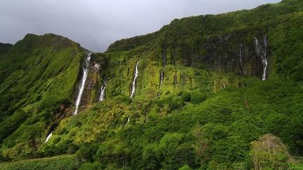Landscape montages - waterfalls