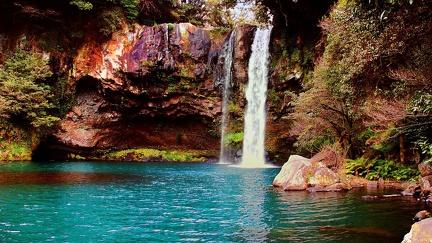 Source and waterfall - South Korea