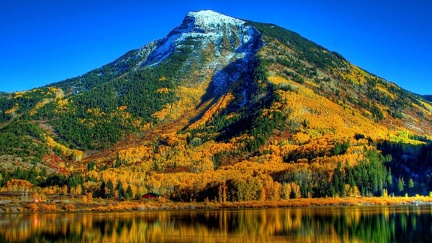 Mountain in Autumn
