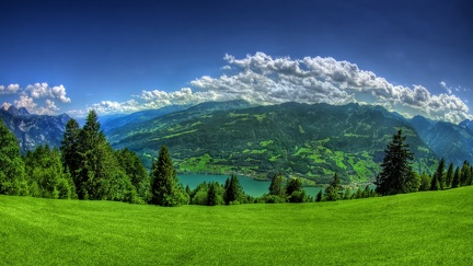 Panoramic view - mountains