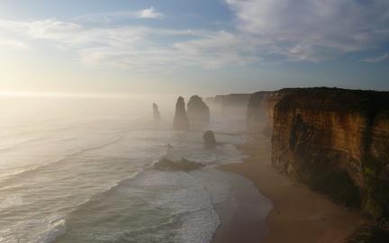 Cliffs HD wallpaper