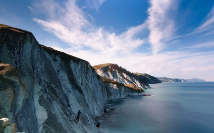 Beautiful cliffs - wallpaper