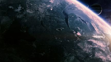 Planet View - SciFi Wallpaper