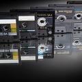 Cassettes audio - Rétro fond écran