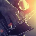 Guitare électrique rock - fond écran