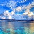 Petite île en pleine ocean