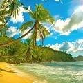Seychelles - carte postale