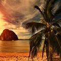 Seychelles - coucher de soleil