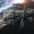 Création graphique - Star wars - Faucon millenium