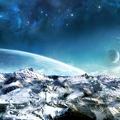 Paysage planete inconnue
