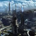 Ville du futur - création 3D UltraHD