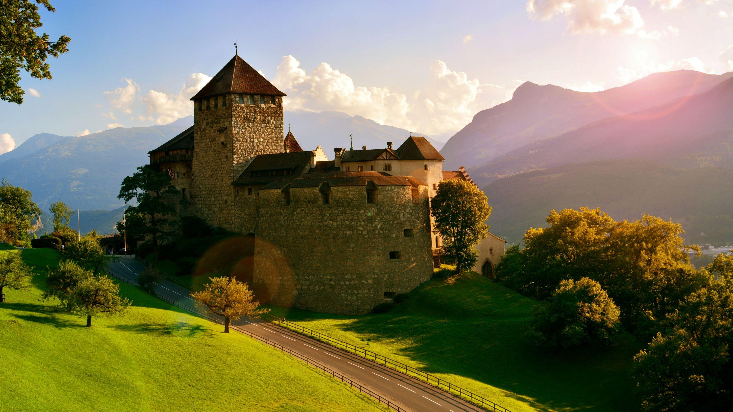 Chateau Fort En Allemagne Fond D Ecran Hd