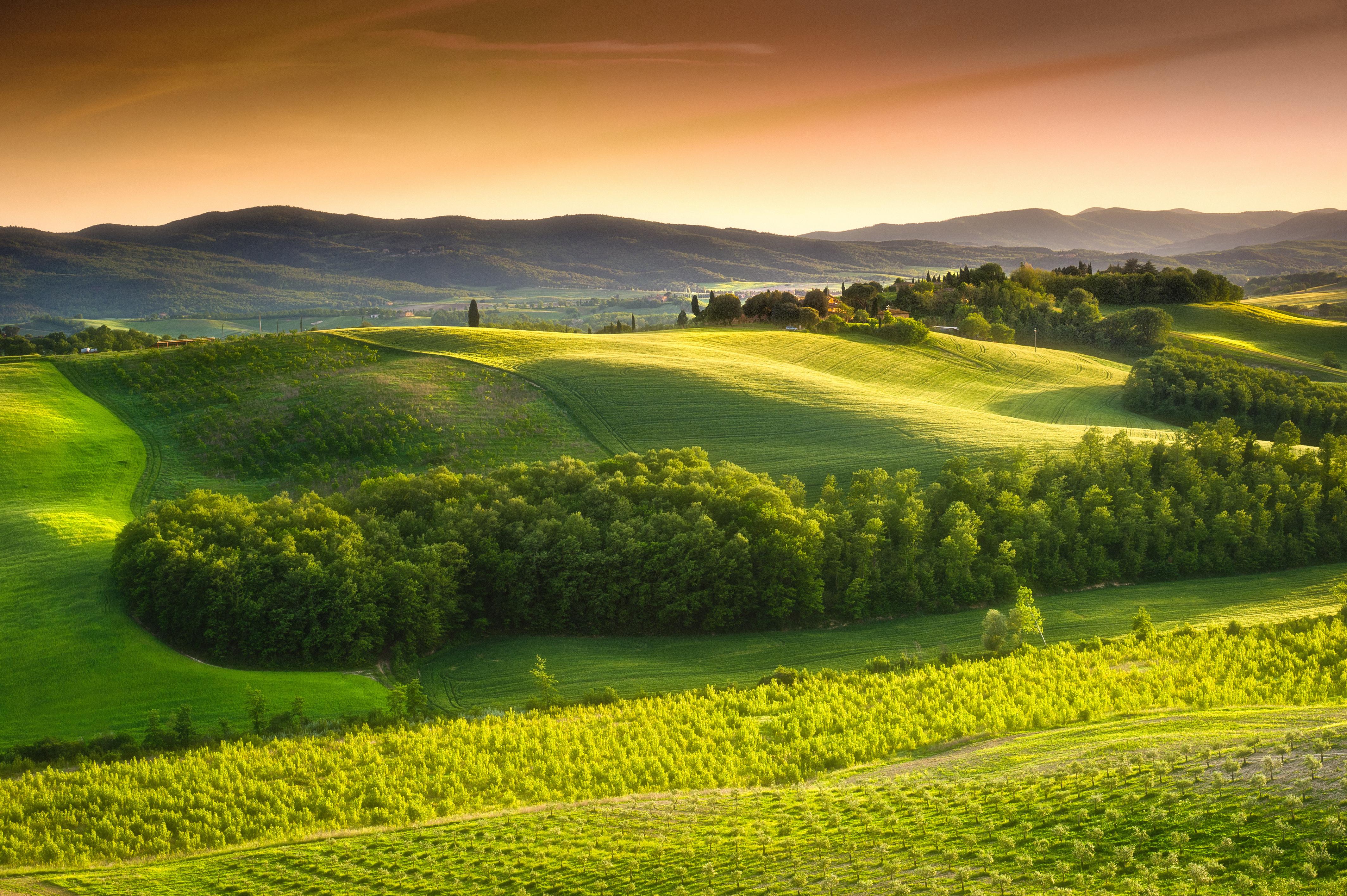 Champs agricoles Italie - Fond d'écran HD