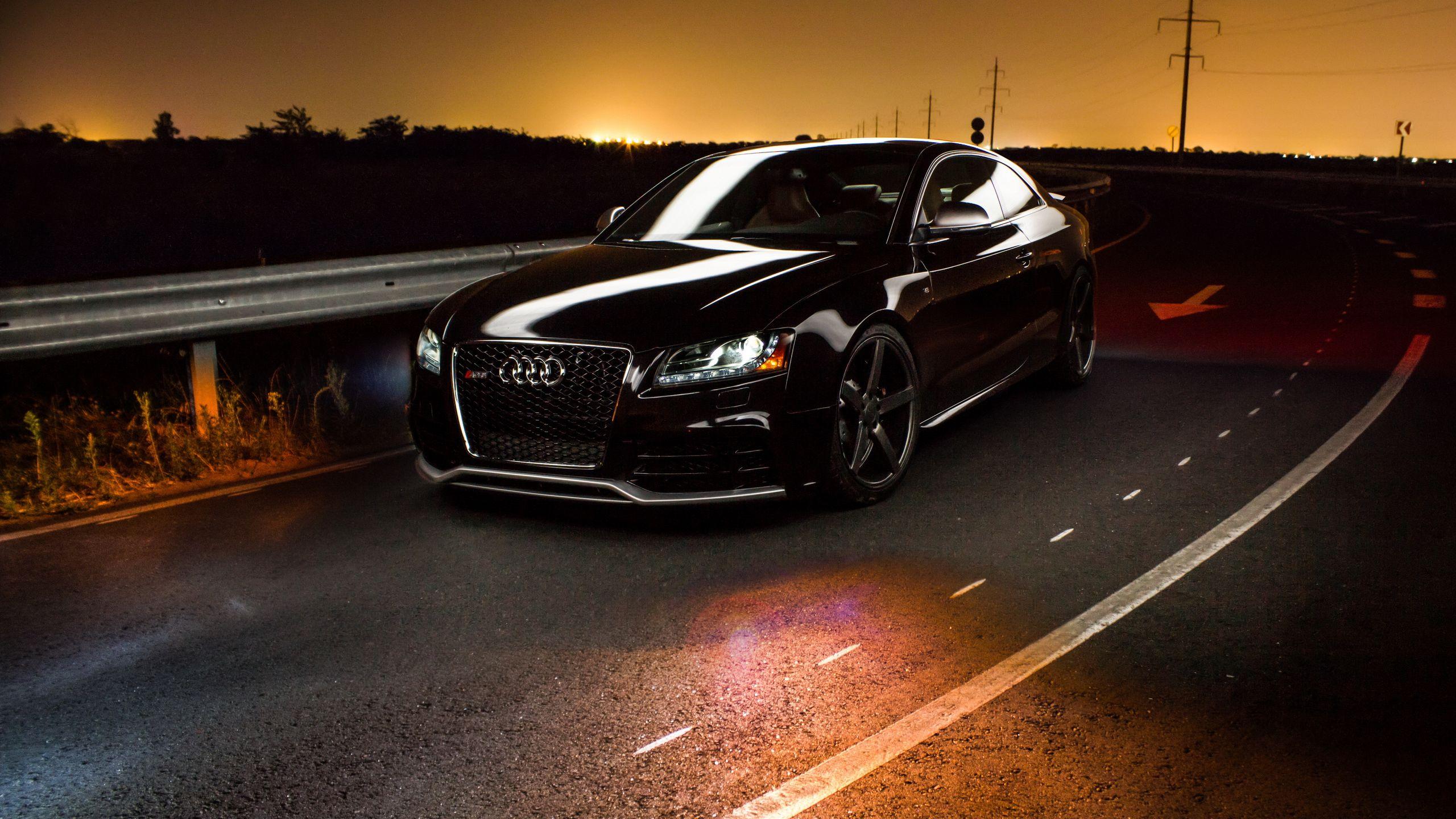 Audi Rs5 Noir Wallpaper Hd Fond Décran Hd